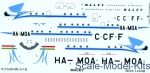 BOA-14448 Decals 1/144 for Ilyushin IL-18