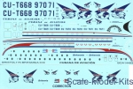 BOA-14493 Decals for Bristol 175 Britannia