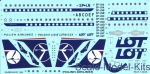 BOA-14494 Decals for Embraer ERJ-195 LOT