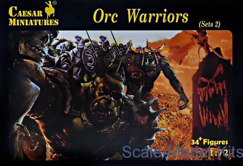 Orc warriors, sets 2