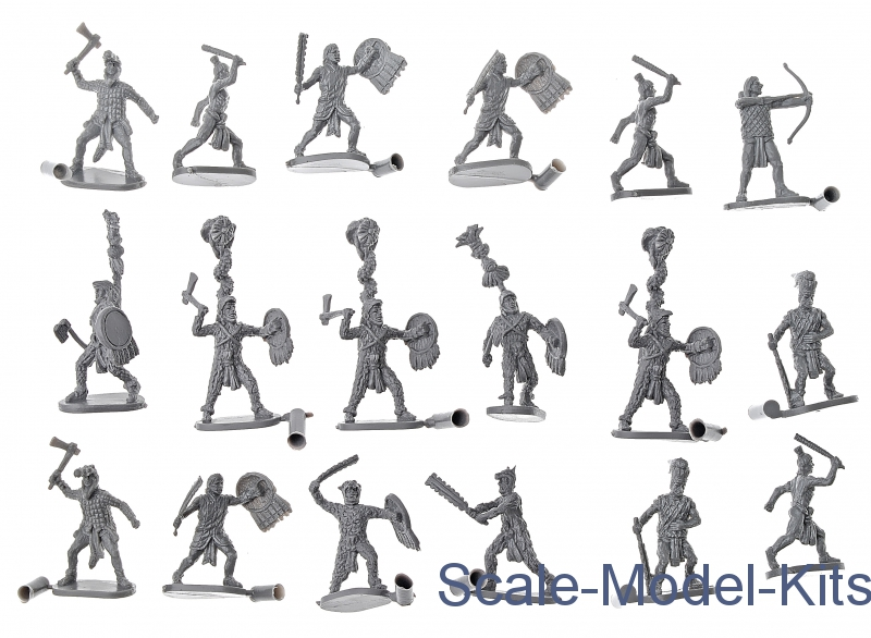 Soldatini 1//72 AZTEC WARRIORS Caesar Miniatures H028