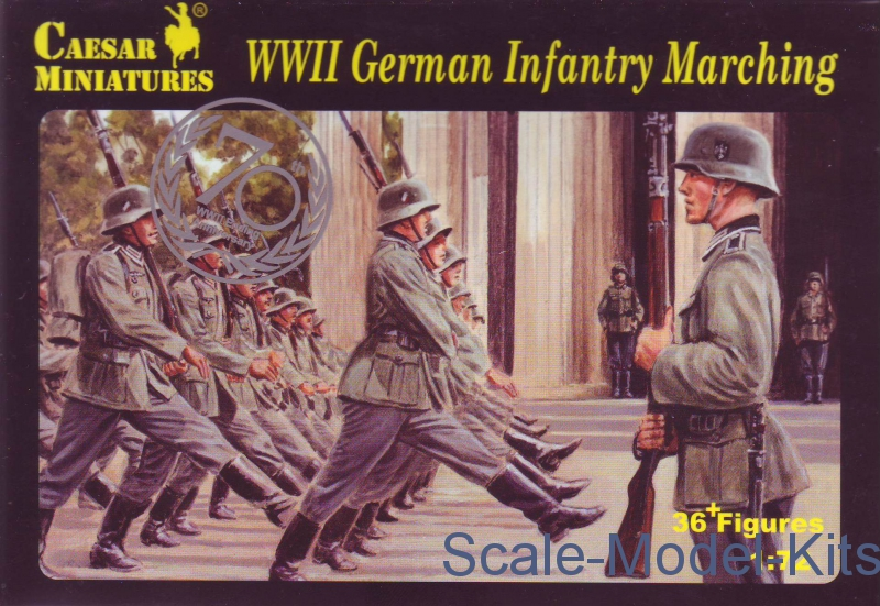 German Infantry Marching