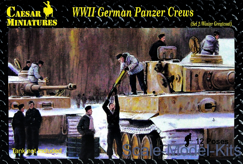 WWII German Panzer Crews (Set 2)