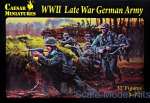 CMH074 WWII Late War German Army