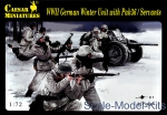 CMH097 WWII German Winter Unit with Pak36 / Servants