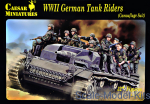 CMH099 WWII German Tank Riders (Camouflage Suit)
