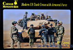 CMH103 Modern US Tank Crews with Armored Force