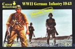 CMM7711 1/72 Caesar Miniatures M7711 - German Infantry 1943