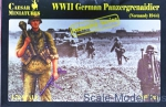 CMM7716 1/72 Caesar Miniatures M7716 - German Panzergrenaidier (Normandy 1944)