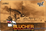 CG3519FH German Blucher Armored Cruiser, 1909 (Full Hull version)