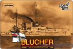 CG3519WL German Blucher Armored Cruiser, 1909 (Water Line version)