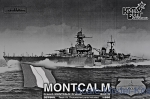 CG3579WL French Montcalm Light Cruiser, 1940 fit (Water Line version)