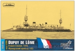 CG3581FH French Dupuy de Lome Cruiser, 1895 (Full Hull version)