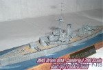 Warships: HMS Orion Battleship, 1912, Combrig, Scale 1:700