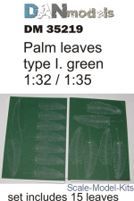 DAN35219 Palm leaves type #1, Green