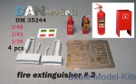 DAN35244 Fire extinguisher, #2, 4 pcs.