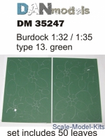 DAN35247 Burdock 1/32/1/35: type №12, Green
