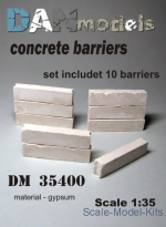 DAN35400 Concrete barriers, 10 pcs