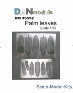 DAN35532 Photoetched: Palm leaves #1