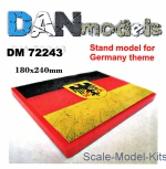 DAN72243 Display stand. Germany theme, 180x240mm