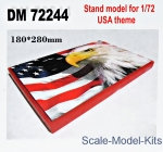 DAN72244 Display stand. USA theme, 180x280mm