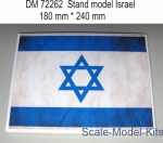 Stand model Israel in scale 1/72