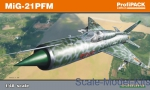 Fighters: Mikoyan MiG-21 PFM, Profipack edition, Eduard, Scale 1:48
