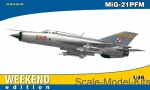 Fighters: Mikoyan MiG-21PFM, Weekend edition, Eduard, Scale 1:48