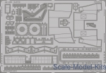 EDU-49465 Photoetched set 1/48 B-57B S.A., for Airfix kit