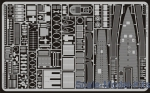 EDU-53015 Photoetched set 1/72 U-boat VIIC/41