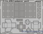 Photoetched set 1/72 Sea King AEW.2 equipment part2, for CyberHobby kit