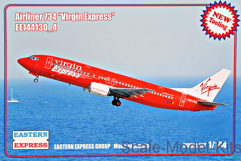 "Airliner-734 ""Virgin Express"""