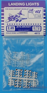 ELF48-72 Landing lights: jets aircraft, 48 pcs