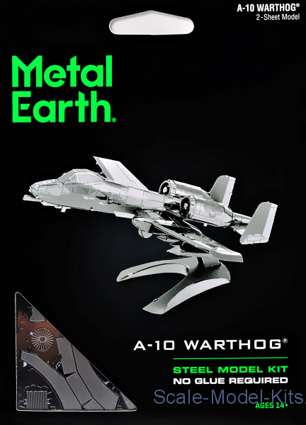 "3D pazle: ""American attack aircraft A-10 Warthog"""