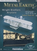 MMS042 3D Puzzle: Wright Brothers Airplane