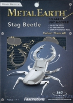 MMS071 Metal 3D puzzle Stag Beetle