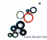 Tools: Fengda RK180 - Gasket kit of O-rings for airbrush BD180, Fengda
