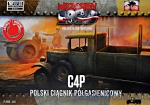 FTF042 C4P Polish Halftrack Artillery Tractor (Snap fit)