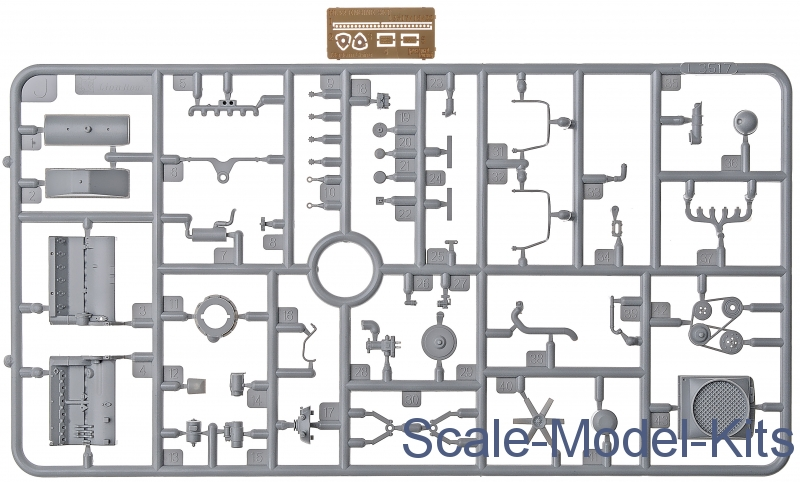 great wall hobby - maybach hl 42 trkm engine for sd.kfz.250, sd.kfz