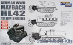 GWH-L3517 Maybach HL 42 Trkm Engine for Sd.Kfz.250, Sd.Kfz.11,Demag