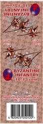 Byzantine Infantry 10-13 cent set 1, resin