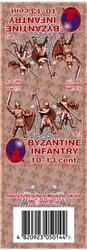 Byzantine Infantry 10-13 cent set 3, resin