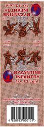 Byzantine Infantry 10-13 cent set 4, resin