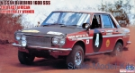 HA21266 Nissan Blue bird 1600 SSS 1970 East african safari rally