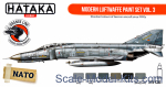 HTK-CS61 Modern Luftwaffe paint set vol.3, 6 pcs