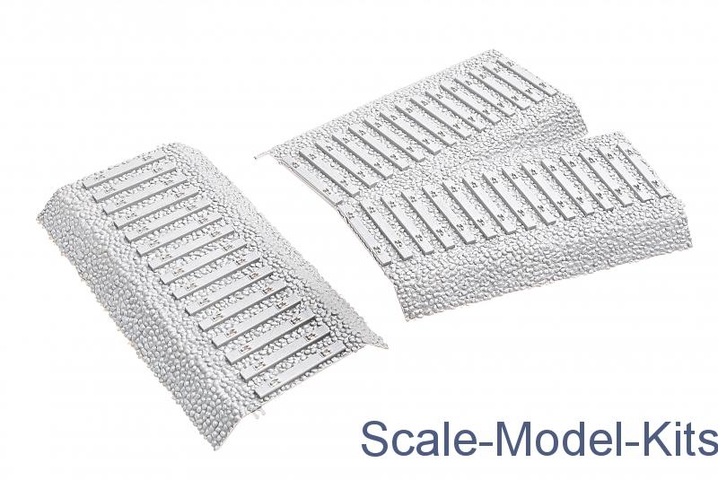 Hobby Boss German Railway Turnout Plastic Scale Model
