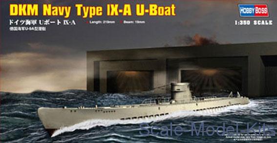 1/350 Hobby Boss 83506 - German Navy Type IX-A U-Boat