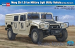 HB82468 Dong Feng Meng Shi 1.5 ton Military Light Utility Vehicle - Hardtop Version A