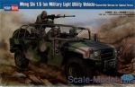 HB82469 Meng Shi 1.5 ton Military Light Utility Vehicle  - Convertible Version for Special