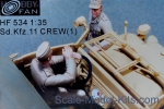 HF534 Sd.Kfz. 11 crew, set 1 (resin)